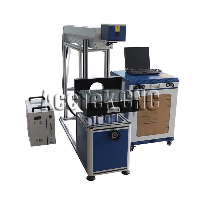 CO2 laser marking machine AK80C fractional co2 laser equipment