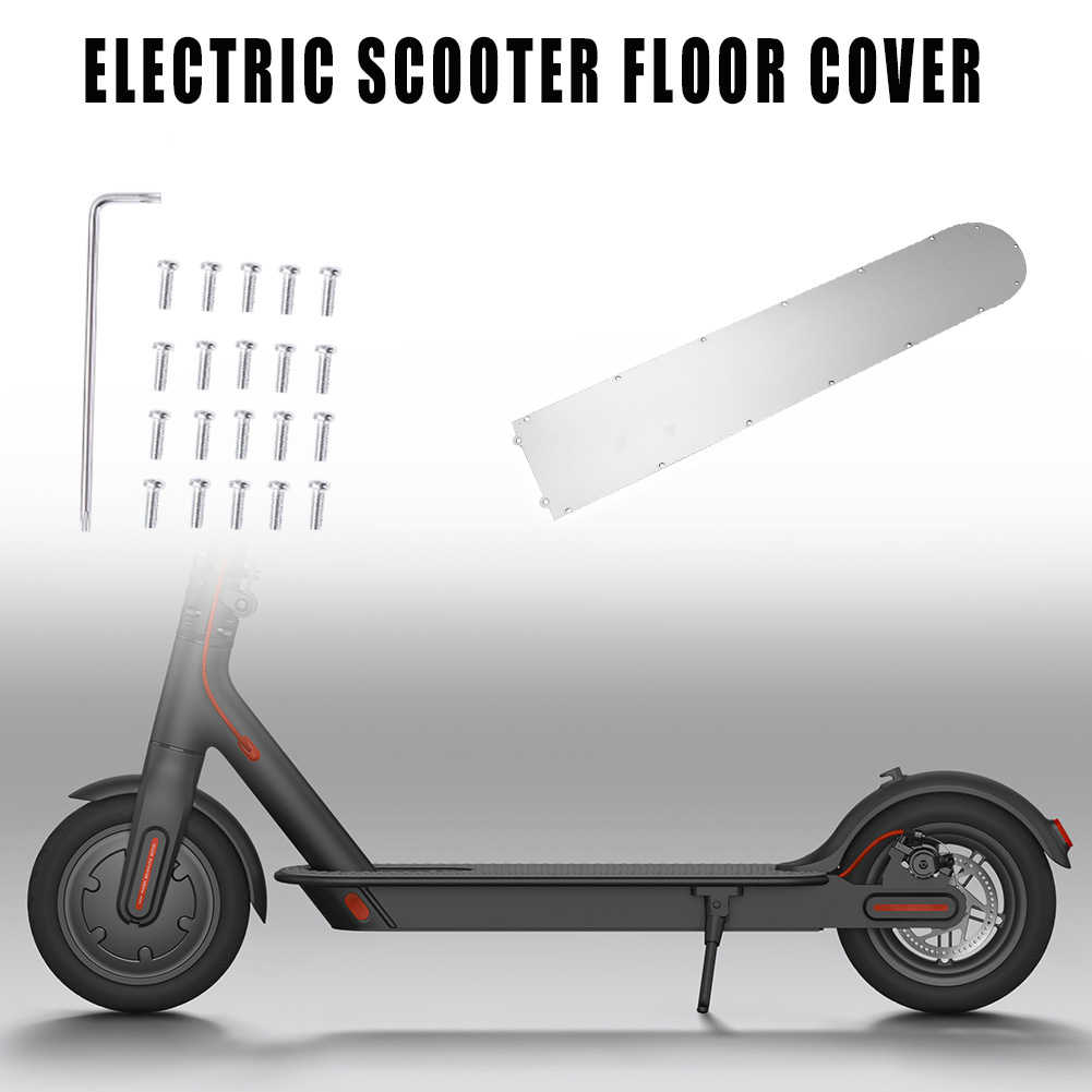 COVER STAINLESS BOTTOM PROTECTION FOR XIAOMI M365//1S// PRO// PRO2// LITE E-SCOOTER