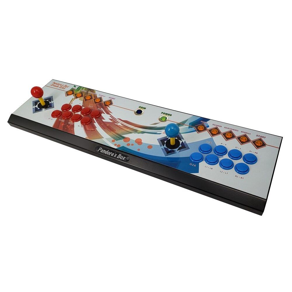 Il Vaso di Pandora 6 8 Pulsante di Arcade Console 1300 in 1 in Grado di Aggiungere 3000 Giochi di 2 Giocatori Hdmi Vga Usb joystick per Pc Video Game Ps3 Tv - 4