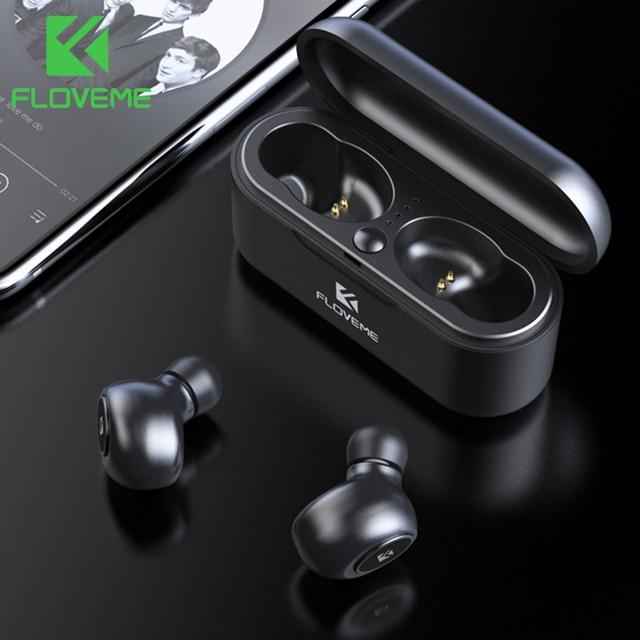 FLOVEME TWS 5.0 Bluetooth Auricolare Per Xiaomi Redmi Auricolari Della Cuffia Auricolare Senza Fili 3D Stereo Auricolari Audio Doppio Microfono