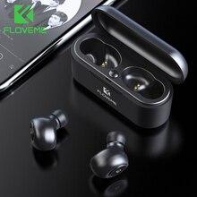 FLOVEME TWS 5.0 Bluetooth אוזניות עבור Xiaomi Redmi אלחוטי אוזניות אוזניות אוזניות 3D סטריאו קול אוזניות מיקרופון כפול