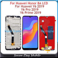 Tested Lcd For Huawei Honor 8A Display For Huawei Y6 2019 Y6 Pro 2019 LCD display With Touch Screen Assembly For Y6 Prime 2019