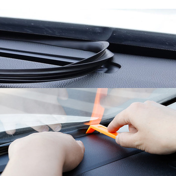 Dashboard Sealing Strips Car Stickers For Mazda Ford Toyota BMW Audi Hyundai KIA LADA Universal Auto Interior Accessories image