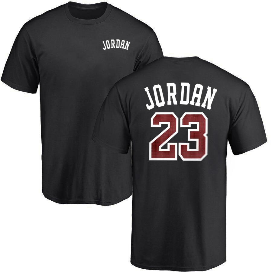 Jordan 23 Men's T-shirts 2019 Summer Tshirt Men Casual T Shirts Cotton O-neck Tops Short Sleeve Hip Hop Tee Shirt Plus Size 3XL