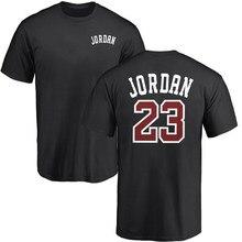 Jordan 23 camisetas masculinas 2019 verão camiseta masculina casual camisetas de algodão o pescoço topos de manga curta hip hop camiseta plus size 3xl