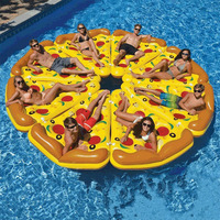 Giant Swimming Ring inflatable flamingo Unicorn Pool Float Swan Pineapple Floats Toucan Peacock Water Toys
