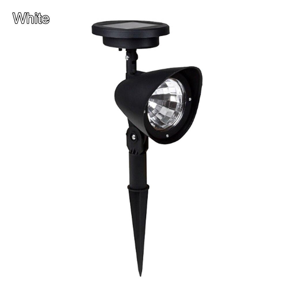 Lampe solaire 4 lampe à LED LED étanche extérieure solaire blanc chaud/blanc pelouse spot pour décoration de jardin