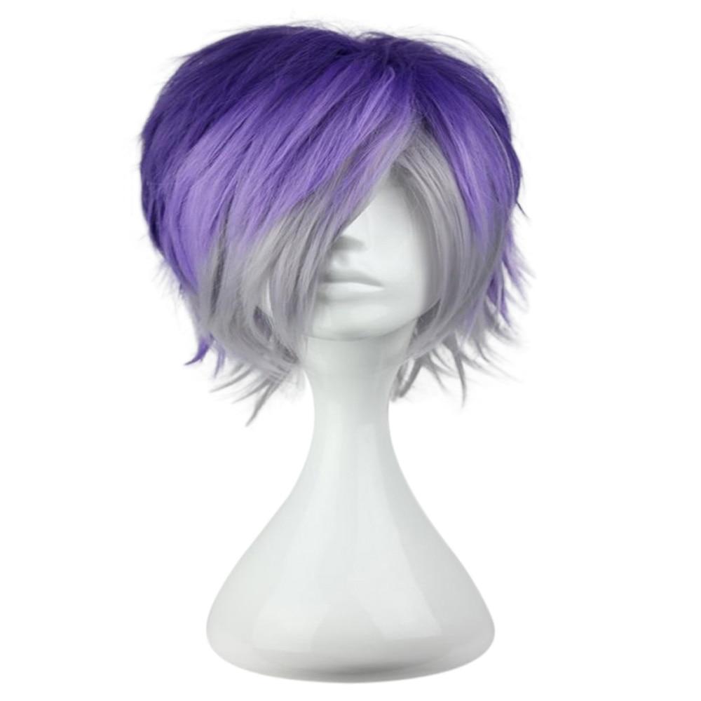 HAIRJOY  Synthetic Hair Men Hairstyle Diabolik Lovers Kanato Sakamaki Cosplay  Wig