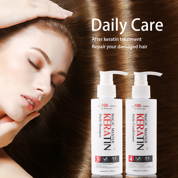 150ml mini After MMK Keratin Treatment Daily Shampoo and 150ml Conditioner Dry Damaged Hair secret key premium so fast hair booster pack 150ml damaged hair care frizzy dry hair keratin repair treatment korean cosmetics