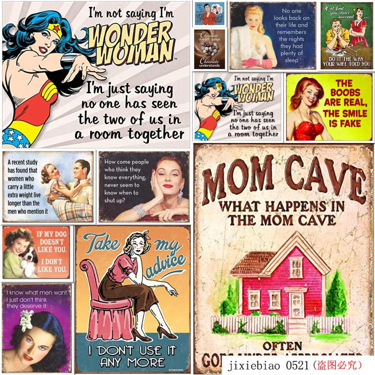 Desperate Enterprises I M Not Saying I M Wonder Woman Tin Sign 16 W X 12 5 H Plaques Signs Aliexpress Wholesale priced tin signs at tinsigns.com made in the united states. aliexpress