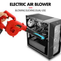 Electric Air Blower Cordless Lithium Battery 10000/19800mAh Blowing Sucking Dual use Dust Computer Cleaner Electric Turbo Fan