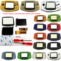 Жк-экран IPS GBA для nintendo Gameboy Advance Console V2, 10-уровневая подсветка, предварительно отрезанный корпус, для самостоятельной сборки