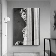 Давид скульптура холст художественные плакаты и принты скандинавские