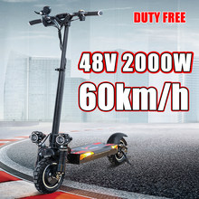 Electric Scooter X900 Foldable 2000W 48V E Skateboard Speed 60KM/H Electric Trotinete Powerful 100KM Distance New E Scooter