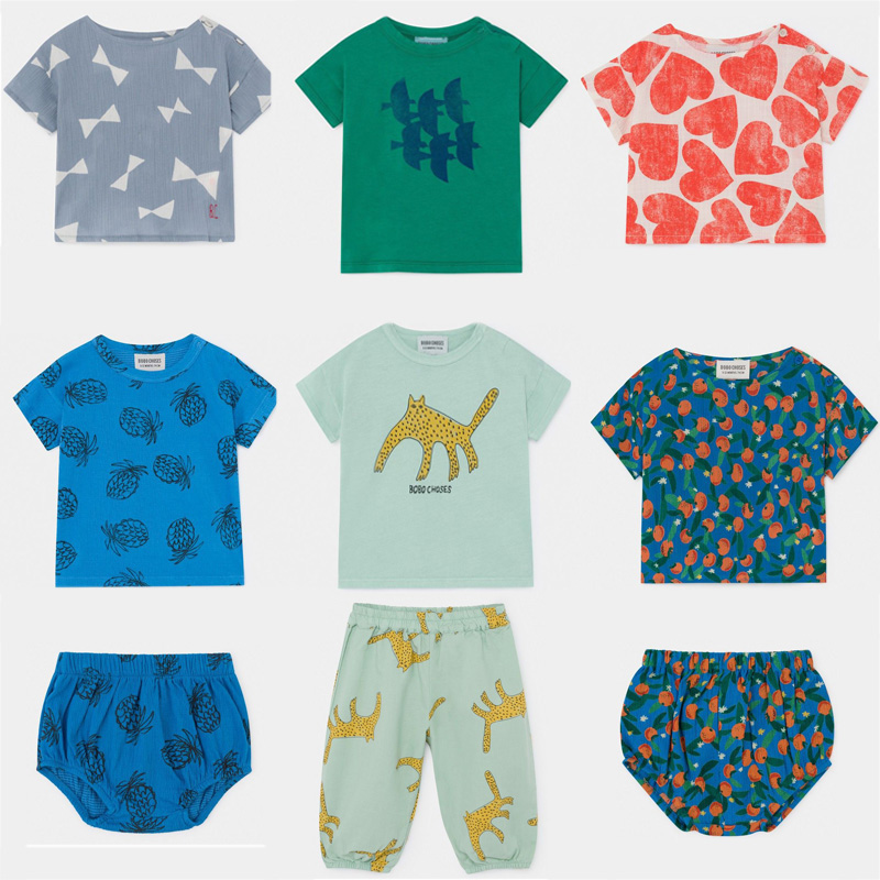 Baby T Shirts 2020 BC Brand New Spring Summer Boys Girls Fashion Print Short Sleeve T Shirts Infant Toddler  Tops Tees Clothes