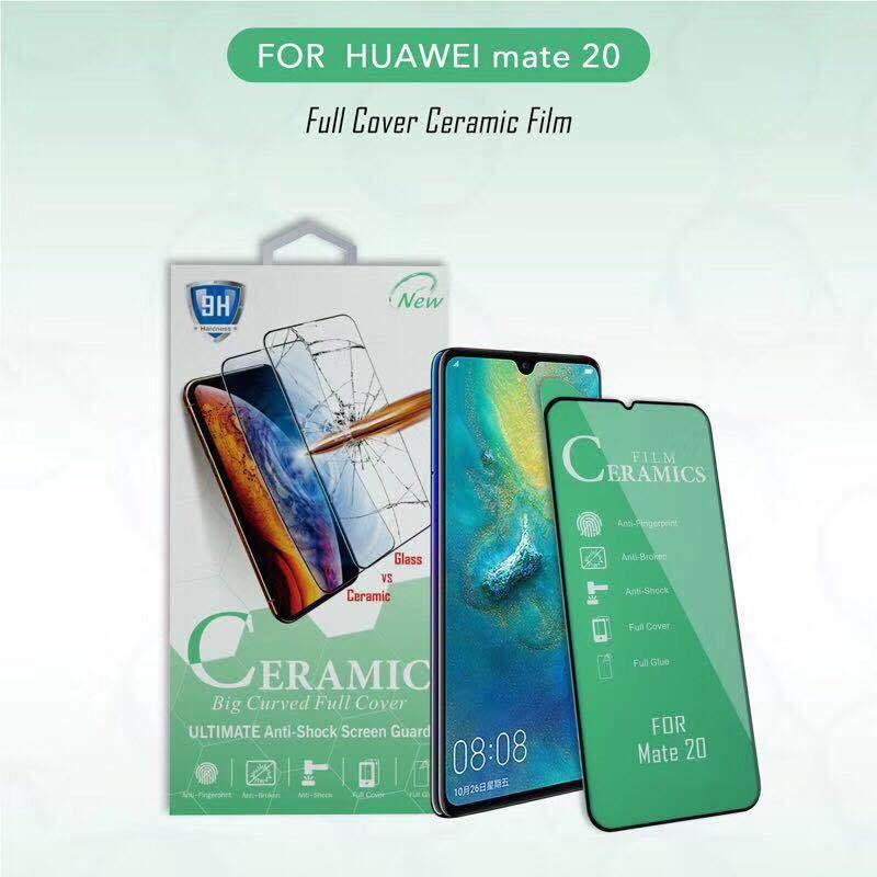 Full Cover Ceramic Screen Protector For Huawei Mate 20 10 Lite Nova 2 Plus 3 3i P10 P20 P30 Lite P Smart  9H Tempered Glass Film