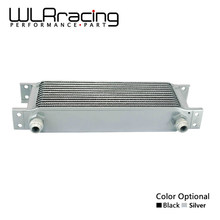 WLR RACING - 13 row British type Aluminum Universal Engine transmission oil cooler 13 rows WLR7013(China)