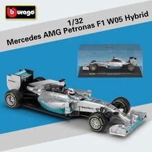 Bburago 1:32 Mercedes Amg F1 W05 Hybrid Simulatie Legering Model Auto Verzamelen Geschenken Speelgoed