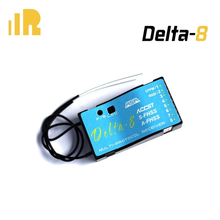 Frsky delta-8 2.4ghz 8ch multi-marca receptor accst d8/v8 futaba S-FHSS/fhss hitec afhss compatível