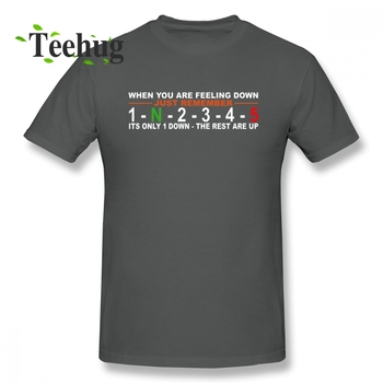 New Design Motorcycle Gear Change 5 Speed 1 Down 4 Up T Shirt Male Crazy Moto Geek Streetwear T-shirt