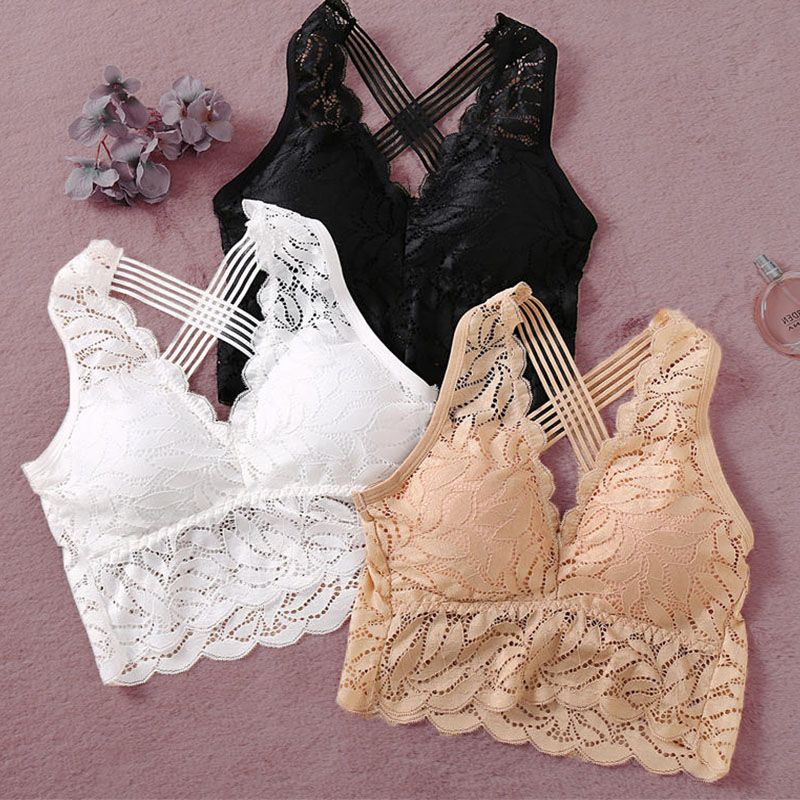 Sexy Tank Crop Tops For Women Camisole Female Underwear 4 Solid Color Lace Crop Top Streetwear Sleeveless Floral Camis Femme