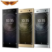 Разблокированный мобильный телефон Sony Xperia XA2, четыре ядра, 5,2 дюймов, 3 ГБ ОЗУ, 32 Гб ПЗУ, камера 23 МП, LTE 1080 P, две sim-карты