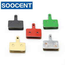4 Pairs Resin Sintered Bicycle Brake Pads for Shimano Deore BR M465 475 515 525/Auriga Comp/Clarks S2/Tektro Draco/TRP Spyre