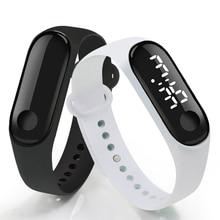 цена на Men Women Smartwatch LED Digital Smart Watch Sport Watch Luxury Touch Screen Silicone Strap Wristwatch Wristband Smart Band