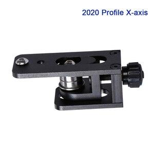 Neue Upgrade 2020 Profil X-achse Aluminium Legierung Synchron Gürtel Begradigen Spanner 3D Drucker Parnsioner Für CR10 CR10S Timing