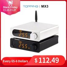 TOPPING MX3 USB DAC ses amplifikatörü Hifi Bluetooth DAC Amp PCM5102A dijital amplifikatör Bluetooth kulaklık amplifikatörü çıkış