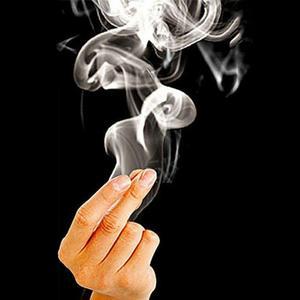 10Pcs Finger Smoke Magic Tricks Surprise Magic Hand Make Smoke Magic Props Comedy Joke Mystery Fun Kids Toys TXTB1