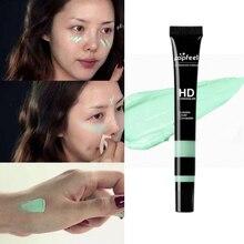 5 Color Green Concealer Cream Professional Face Eye Foundation Makeup
