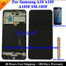 Super AMOMLED Original LCD  For Samsung A10 A105 LCD  For Samsung M10 M105F LCD Screen Touch Digitizer Assembly