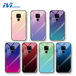 На Алиэкспресс купить стекло для смартфона ivilongtail cover for huawei y6 y7 v20 nova3 nova3i nova4 gradient tempered glass phone protective case for honor y5 8x 8s 9x 10