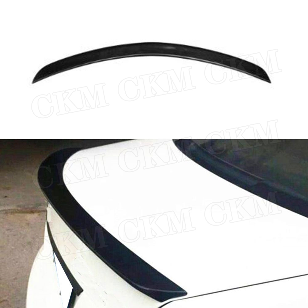 Carbon Fiber / FRP Rear <font><b>Spoiler</b></font> Boot Trunk Wings V Style For <font><b>Mercedes</b></font> <font><b>Benz</b></font> <font><b>C</b></font> <font><b>Class</b></font> <font><b>W204</b></font> AMG <font><b>Spoiler</b></font> 2008-2011 image