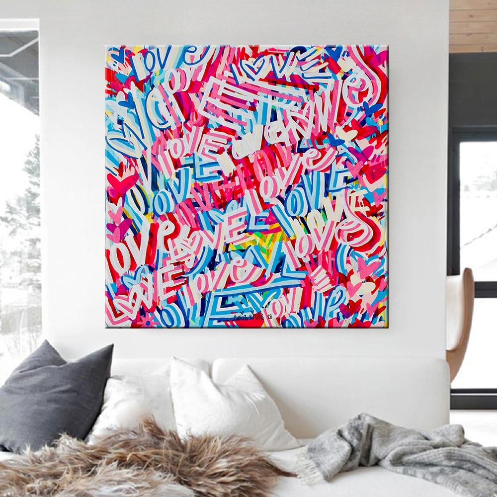Купить абстрактная картина на холсте скандинавская настенная картина