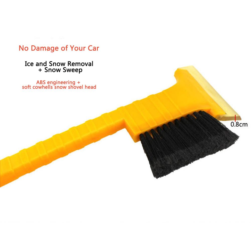 Multifunctional Car Snow Brush Snow Ice Shovel Scraper Defrost Tool Windshield Snow Scraper Winter Auto Vehicle Snowbrush