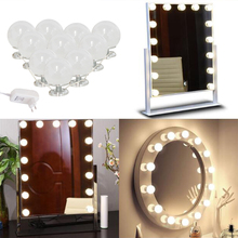Hollywood Style Make up lamps Cosmetic Bulb 110V-220V to 12V Embedded install Removable