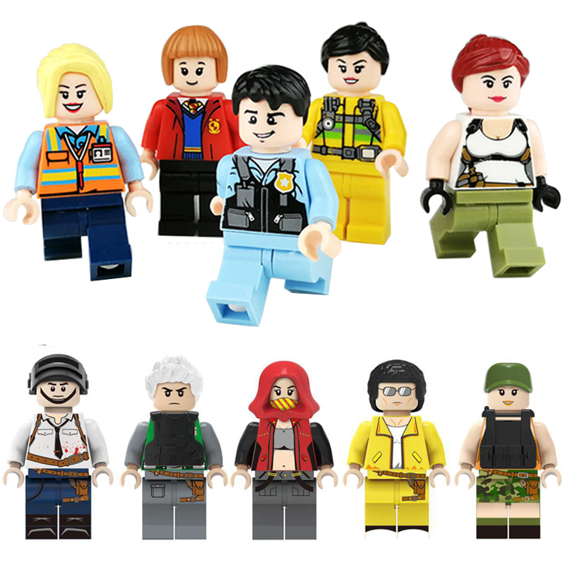 Image 2 - 100pcs/lot Ninjago Marvel Figures Blocks Educational Construction Building Bricks Toys Set For Children Toys-in Blocks from Toys & Hobbies