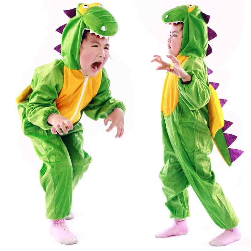 Umorden-Costume de dinosaure de dessin animé pour garçons et filles, vêtements mignons pour Cosplay, Costumes de journée des enfants