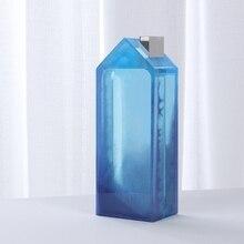 Сделай сам 3D дом копилка банка силикон смола форма монета ящик для хранения силикон смола форма R2LE