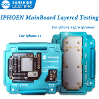 SUNSHINE MainBoard Layered Testing Frame For IPhone11 11 PRO MAX PCB Welding Platform Motherboard Test Repair Fixture