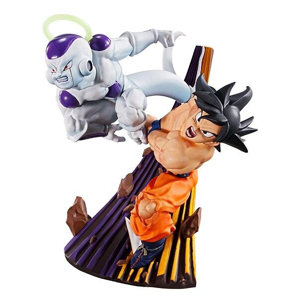 PrettyAngel- Genuine MegaHouse DRACAP RE BIRTH CAPSULE PVC Toy Dragon Ball SUPER Goku-Black Jiren Gokou Freeza Collection Figure 2