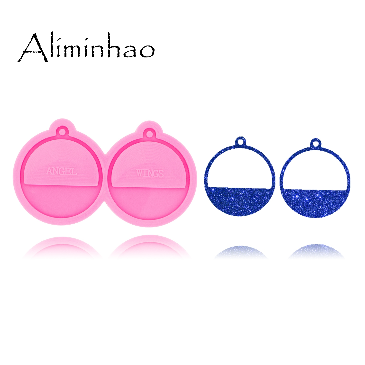 DY0428 L/M/S Semicircular Shape Earrings Handmade DIY Epoxy Silicone Molds Fashion Jewelry Resin Craft Mould