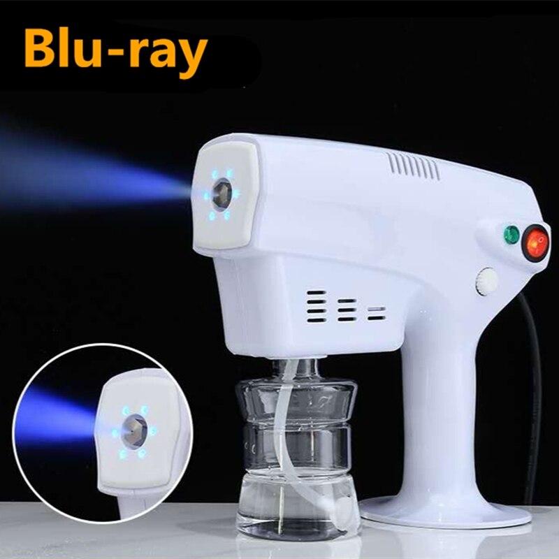 EU US 1200W 250ML Sprayer Fogger Machine Disinfection Nano-Steam 360 Degree Sterilization Hair Spray Ultra Fine Aerosol Water