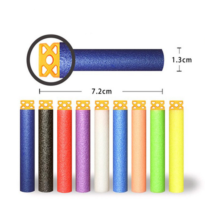 100PCS-For-Nerf-Bullets-Soft-Hollow-Hole-Head-7-2cm-Refill-Darts-Toy-Gun-Bullets-for (1)