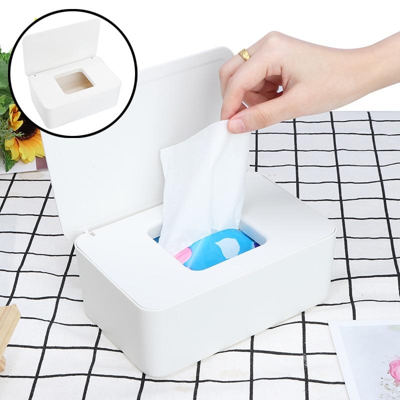 Wet Wipes Dispenser Holder Tissue Storage Box Case with Sale Home Stores I6I9