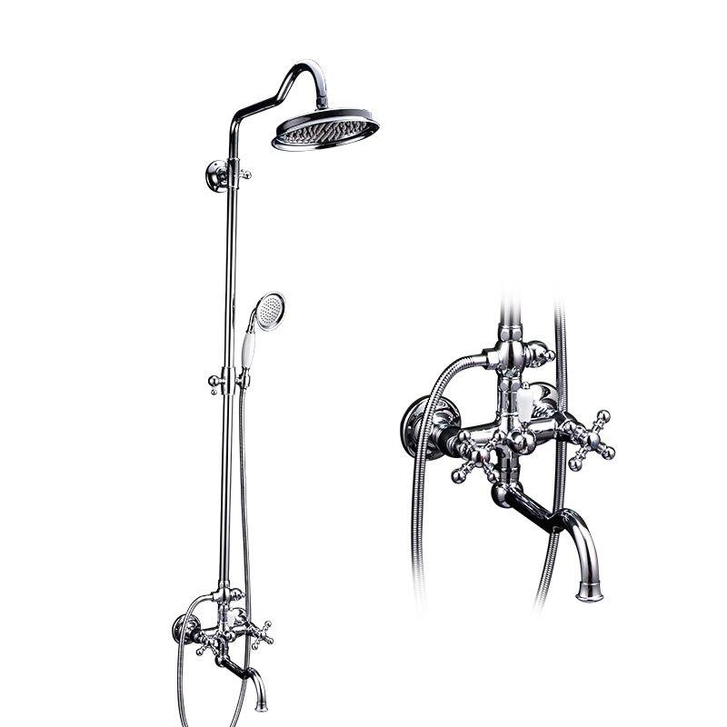 Gappo handwheel decoração torneira do chuveiro banheiro t bronze banheiro parede de bronze chuveiro misturador água mão g2489
