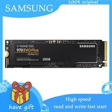 Samsung ssd m.2 nvme 970 evo plus 1tb 250gb 500gb unidade de estado sólido m2 2280 tlc pcie gen 3.0x4 nvme 1.3 alto desempenho
