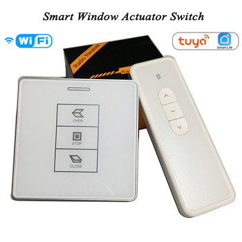 DC24V 220V Tuya Window Curtain Switch Wifi 433Mhz RF remote Control actuator switch - discount item  5% OFF Building Automation
